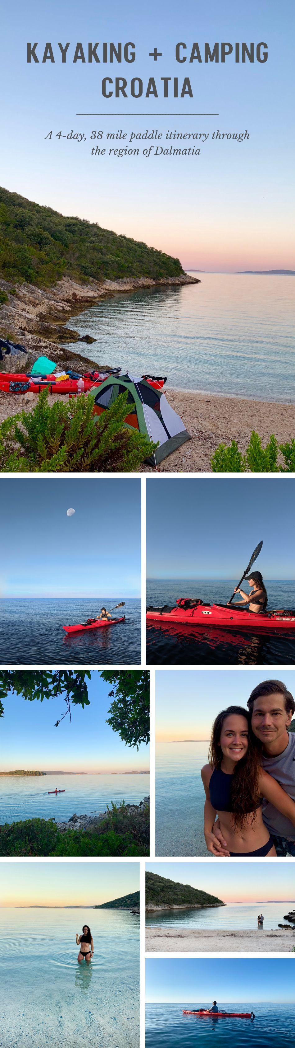 Kayaking and Camping Croatia