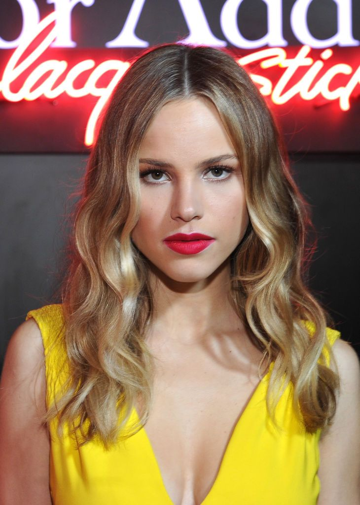 WEST HOLLYWOOD, CA – FEBRUARY 08: Actress Halston Sage attends Dior Beauty celebrates the launch of Dior Addict Lacquer Stick in the presence of Peter Philips in LA at Delilah on February 8, 2017 in West Hollywood, California. (Photo by Donato Sardella/Getty Images for Dior Beauty)