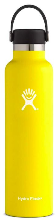 Your Tall Drink of Water! Go back to school with the Hydro Flask Standard Mouth Water Bottle 24oz.