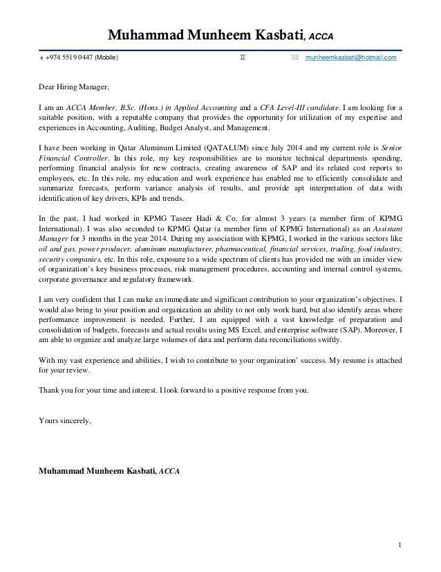 Audit Coordinator Cover Letter Cvresumeunicloudpl