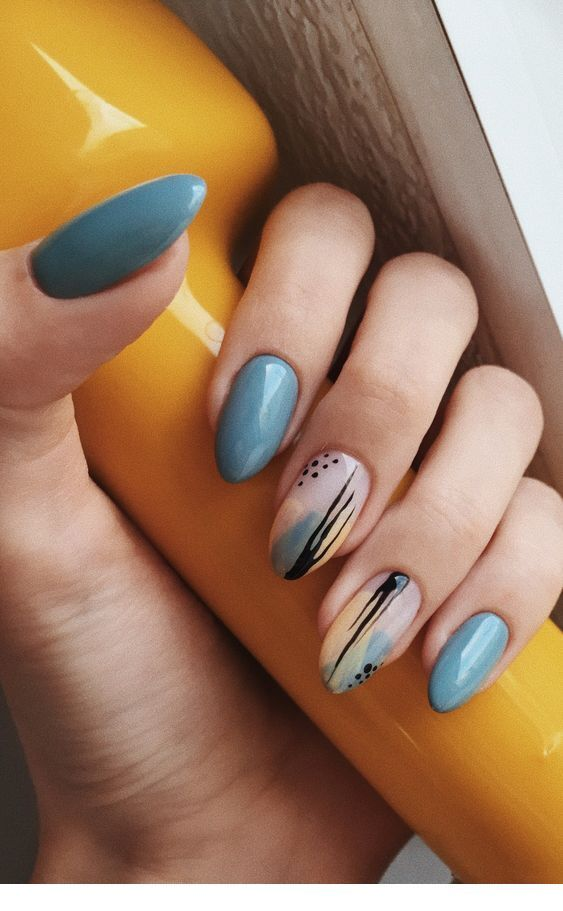 Interesting idea of nails design