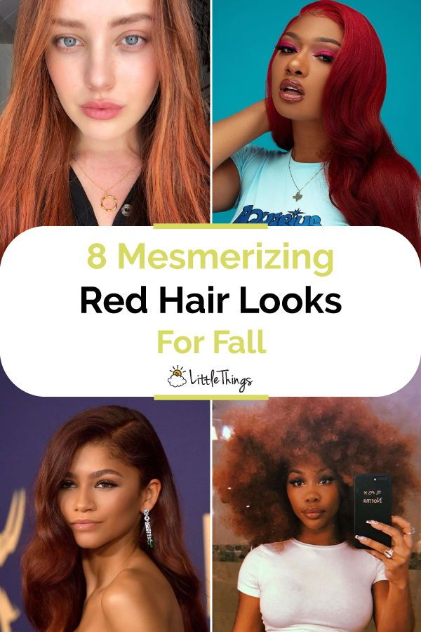 8 Mesmerizing Red Hair Looks For Fall: It's a beauty rule -- darker hair for fall. That usually includes rich brunette hues, jet black tints, and, of course, red. Check out eight radiant celebrities who are making us red with envy. #hair #hairstyle #haircutideas #redhairlooks #celebritystyles