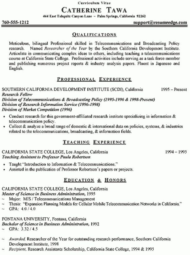 Cv Format Resume Curriculum Vitae Sample Format, Free Cv Template - standard format resume