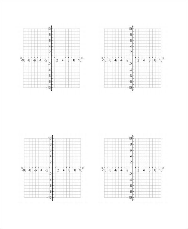 Free Printable Grid Paper For Math Graph Paper Printable Math - sample graph paper