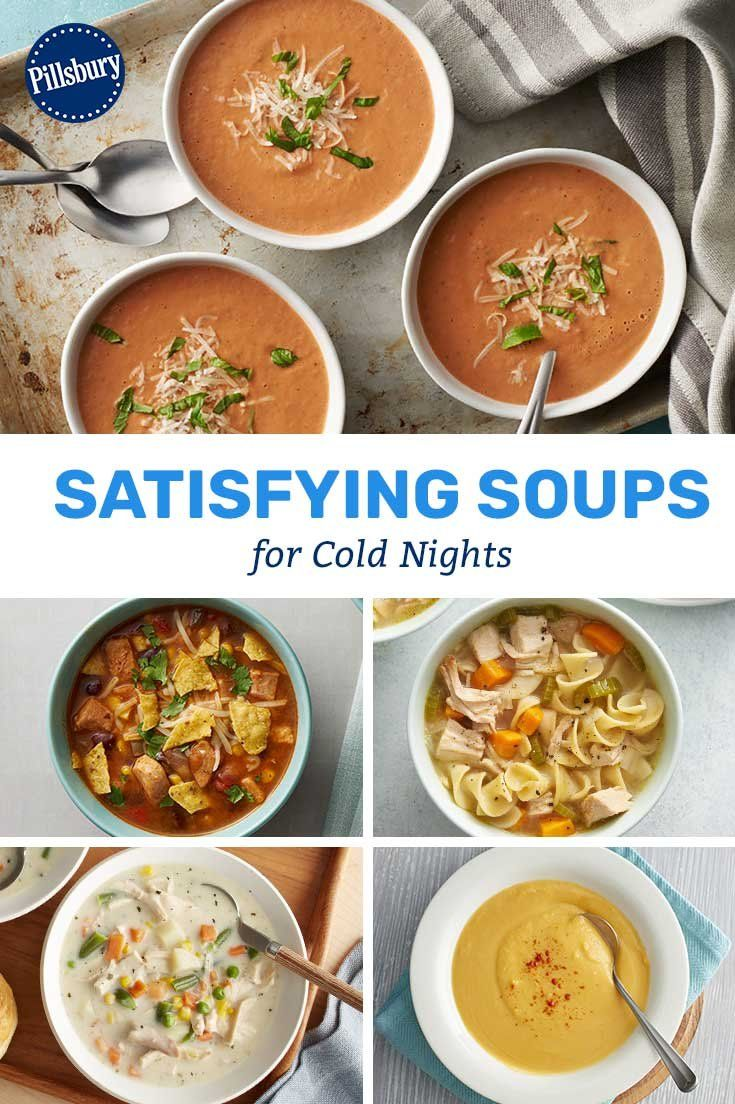 Baby, it's cold outside! Hearty veggie stews and creamy casserole-inspired soups are exactly what your family needs to get through the last legs of winter.