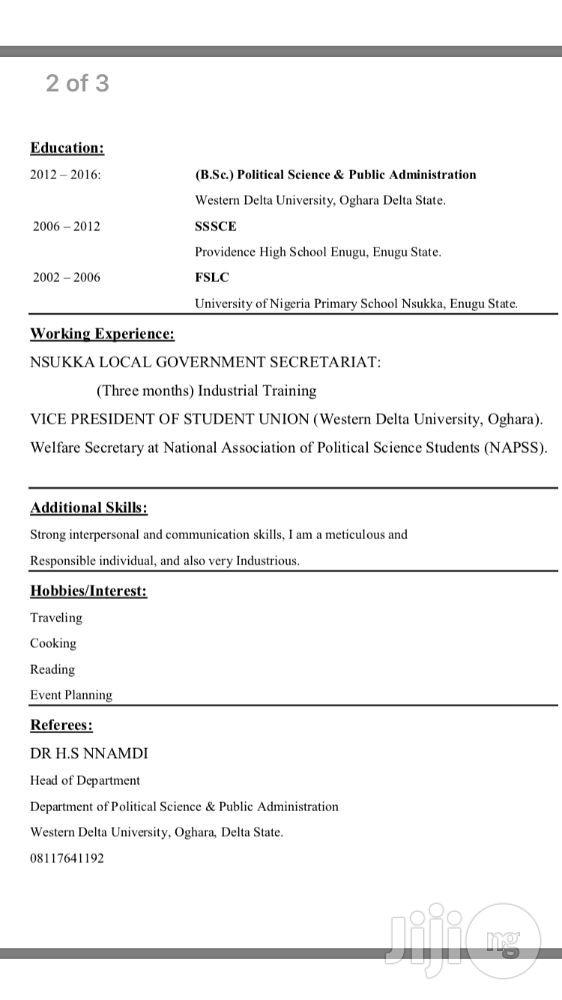 pr resume sample
