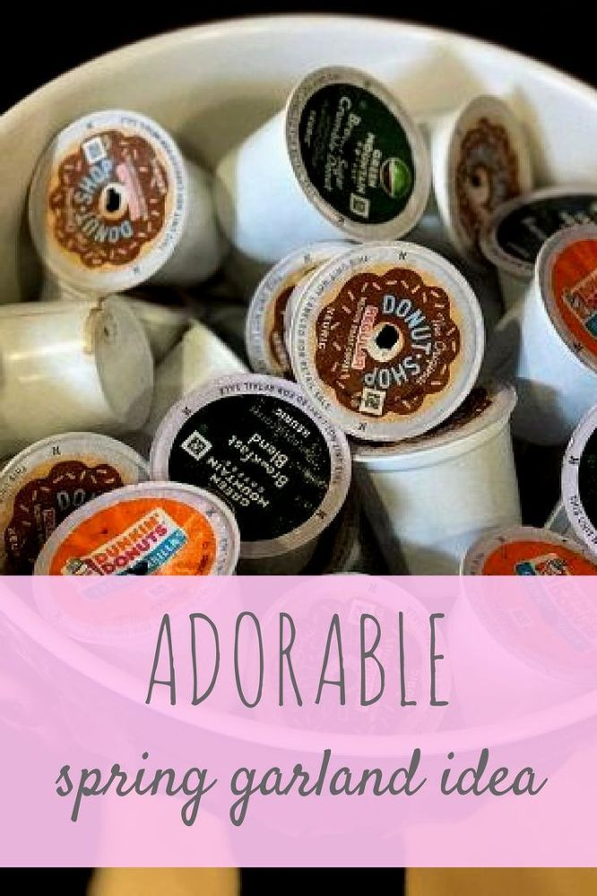 How to Make a K - Cup Light Garland DIY