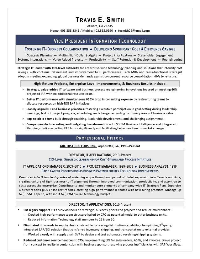 cto sample resume resume sample cto resume example cio sample cio resume