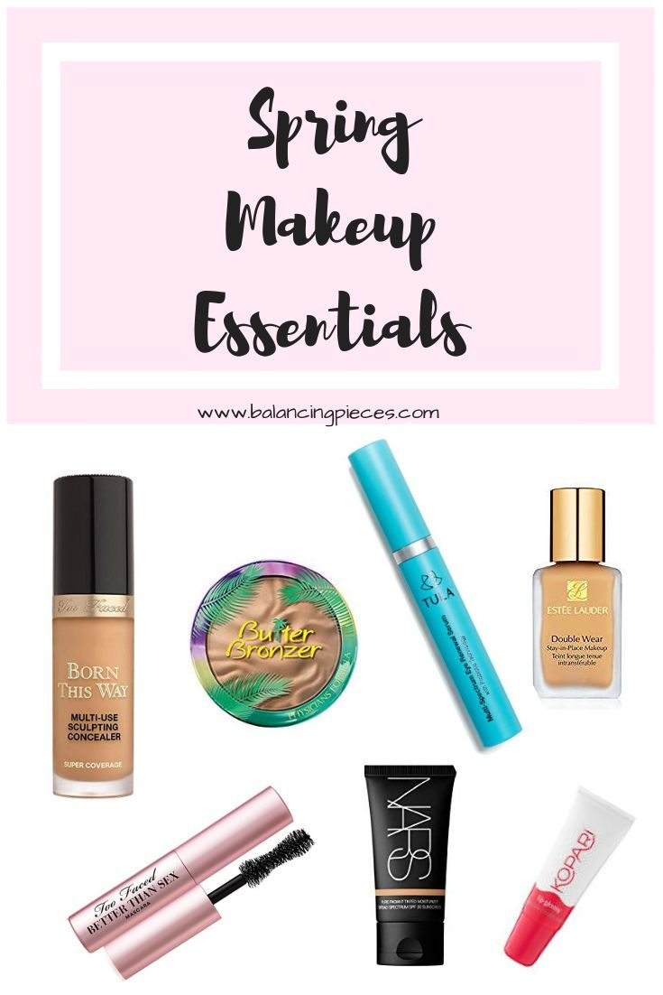 Spring Makeup Essentials – Balancing Pieces