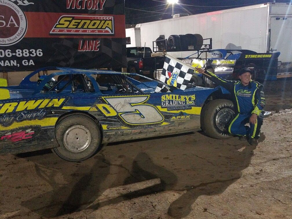 Dirt Track Racing Drew Collins from Auburn GA