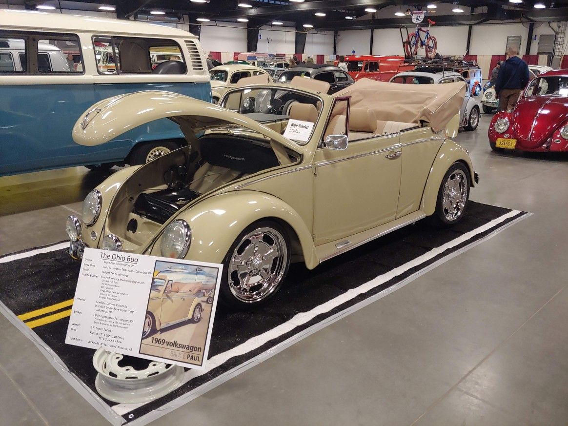 Raleigh Car Show >> 1969 Vw Convertible Winter Volksfest Car Show Raleigh N C