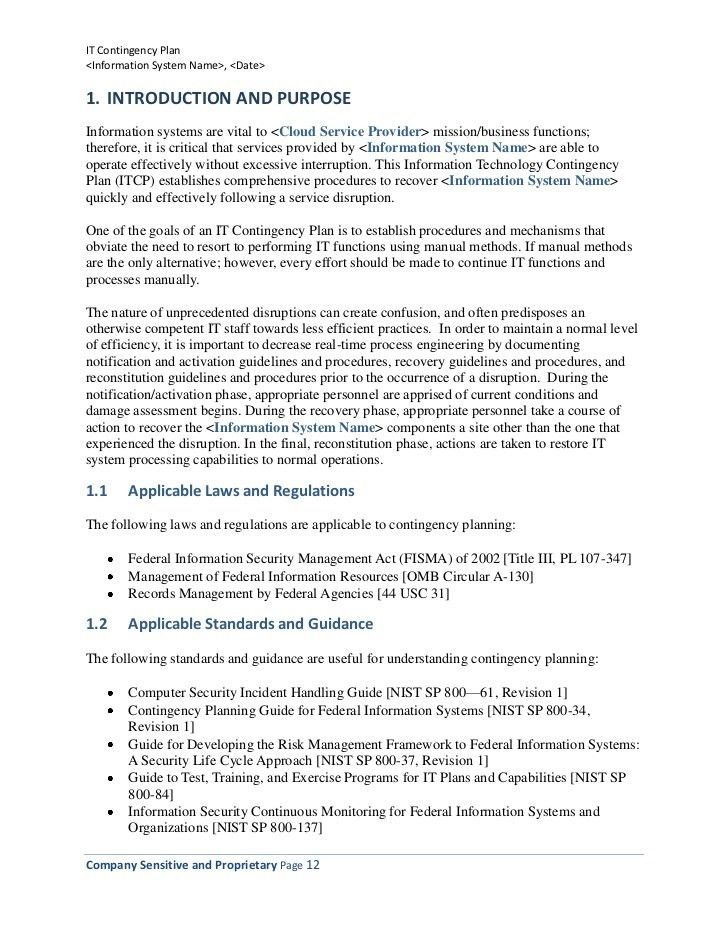 Security plan template 30 60 90 day business plan template it contingency plan example business contingency plan template security plan template pronofoot35fo Images