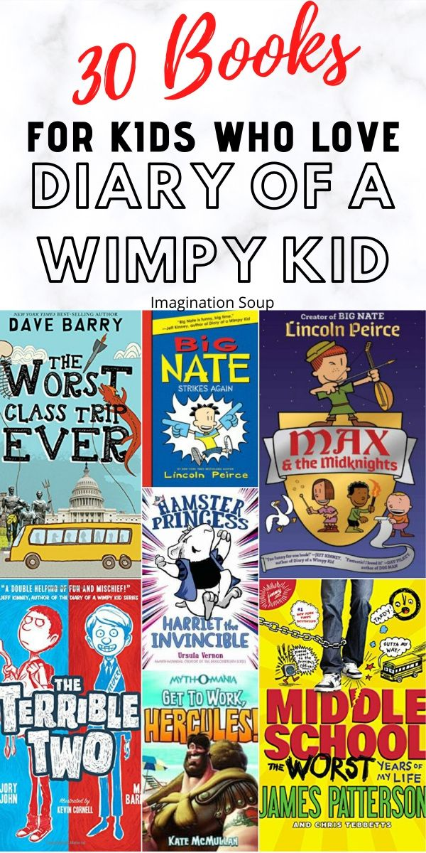 Read Alike Books for Kids Who Like Diary of a Wimpy Kid | Imagination Soup