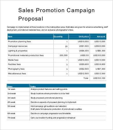 free sales proposal template marketing proposal template 25. sales, Powerpoint templates