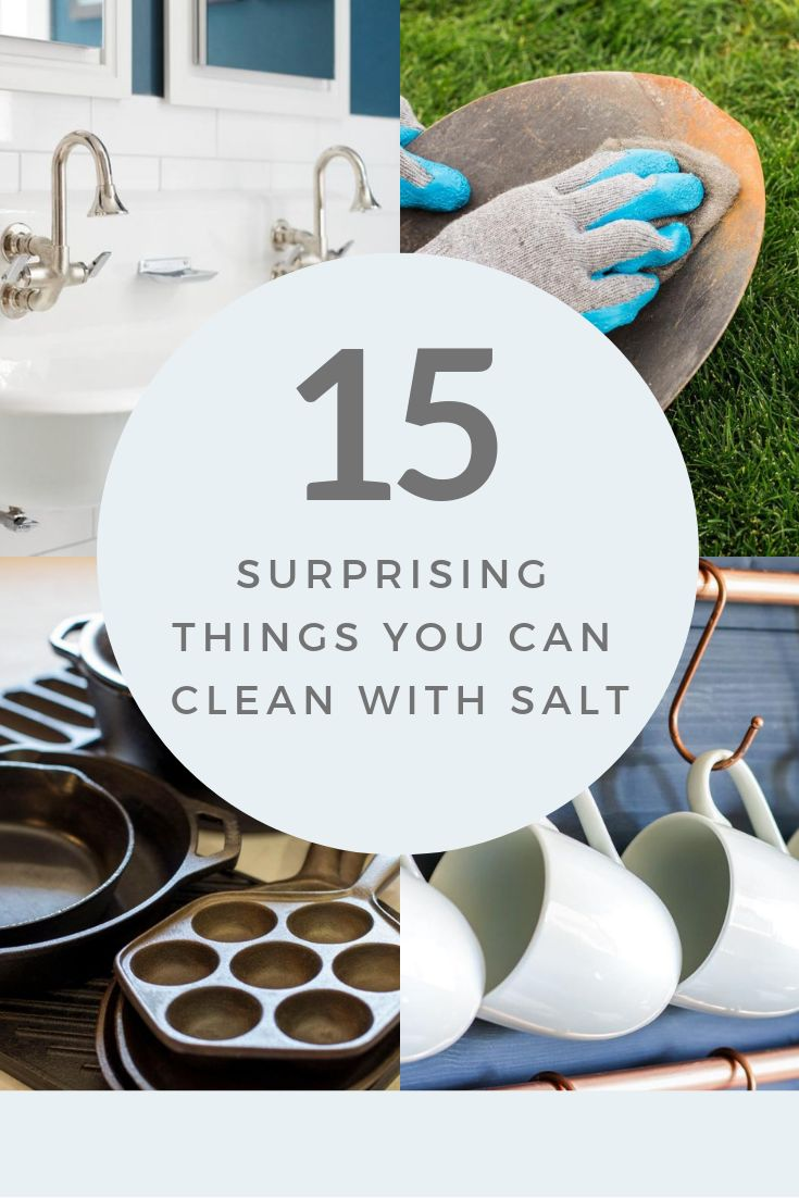 15 Surprising Things You Can Clean with Salt
