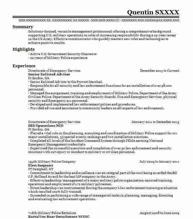 service advisor resume