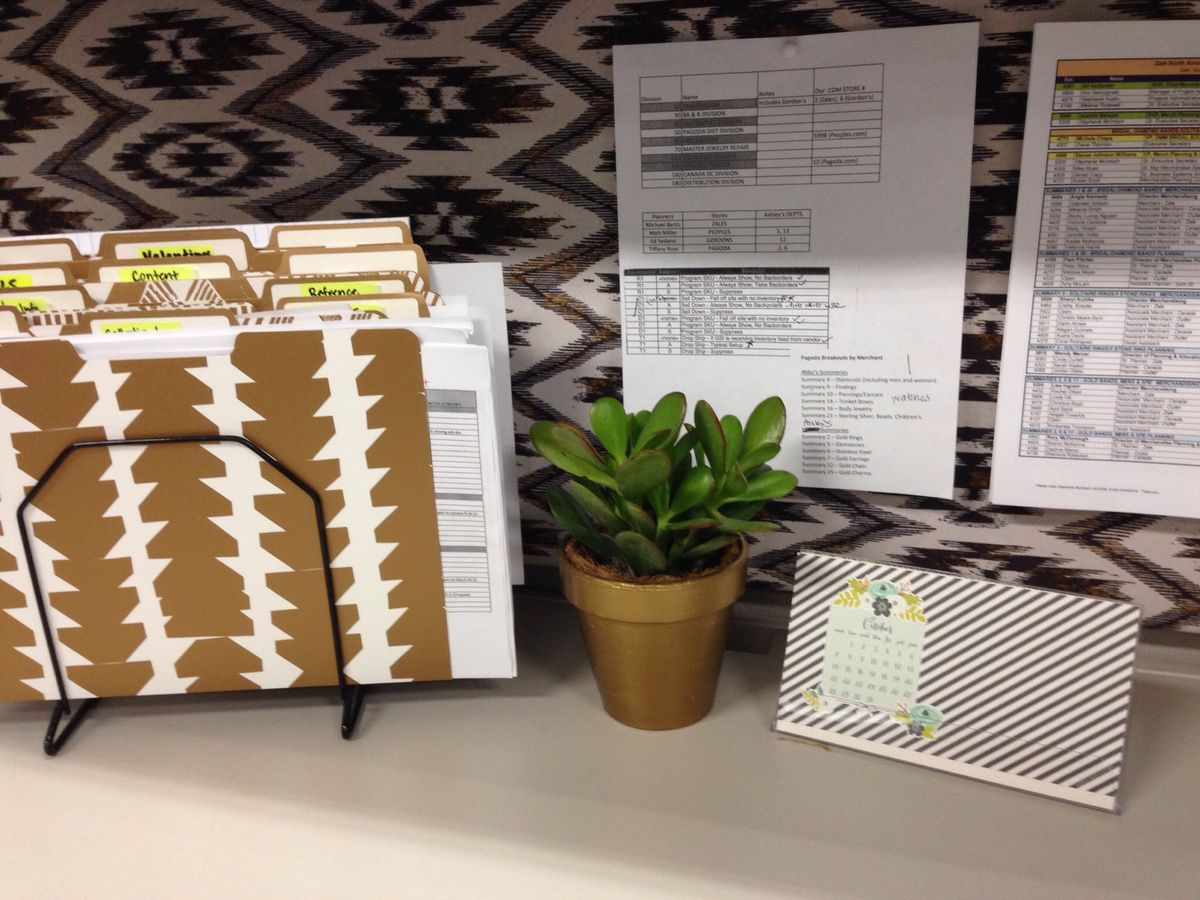 Cubicles Decor And Plants On Pinterest