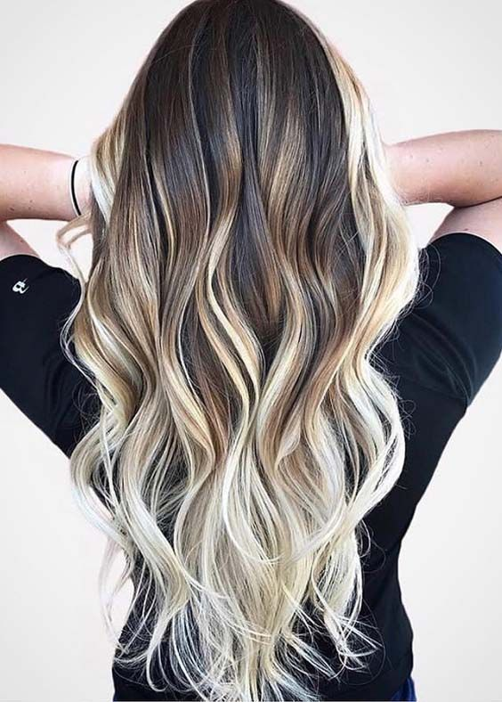 We're offering here the most beautiful and amazing contrast of chocolate caramel hair colors to sport in 2018. Here you can see our favorite hair color ideas for women who are looking for different and unique kinds of hair highlights to wear in 2018. #HairstylesForWomenPerms