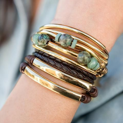 Kerry in Gold with Aventurine