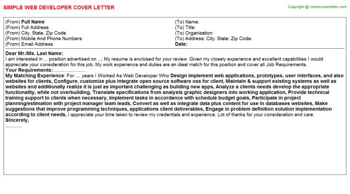 Php Trainee Cover Letter Cvresumeunicloudpl