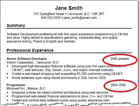 Resume Work Experience Format Example Resume Format Work - sample resume with no work experience
