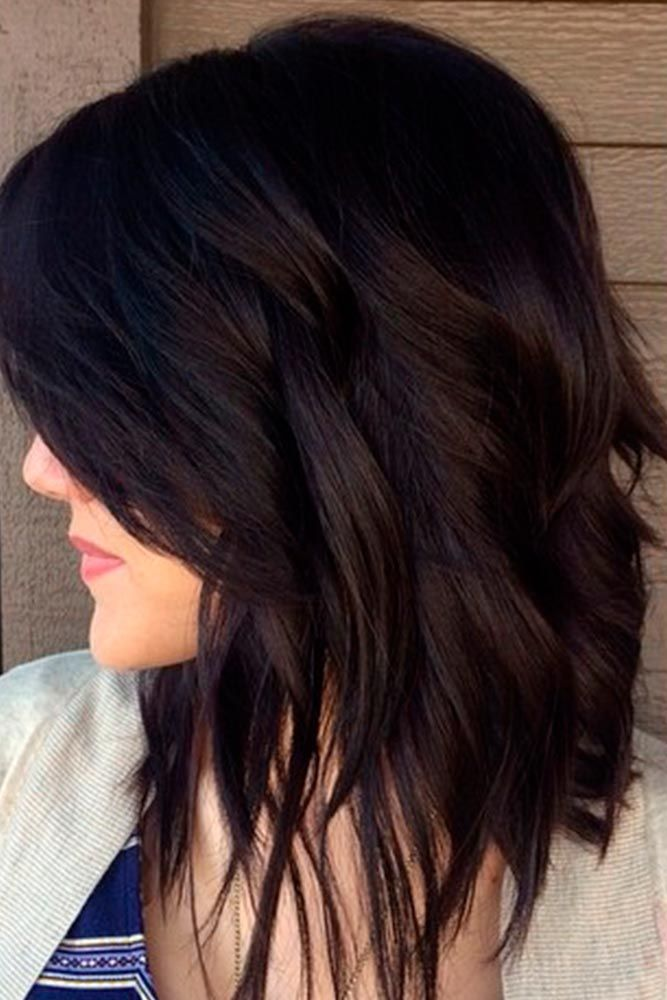 Dark Chocolate Brown #brinettehair #layeredhair ★ Brown hair is often considered to be understated, but we think it is stunning and sexy. See these 20 sultry shades of brown for summer fun in the sun! #glaminati #lifestyle #brownhair