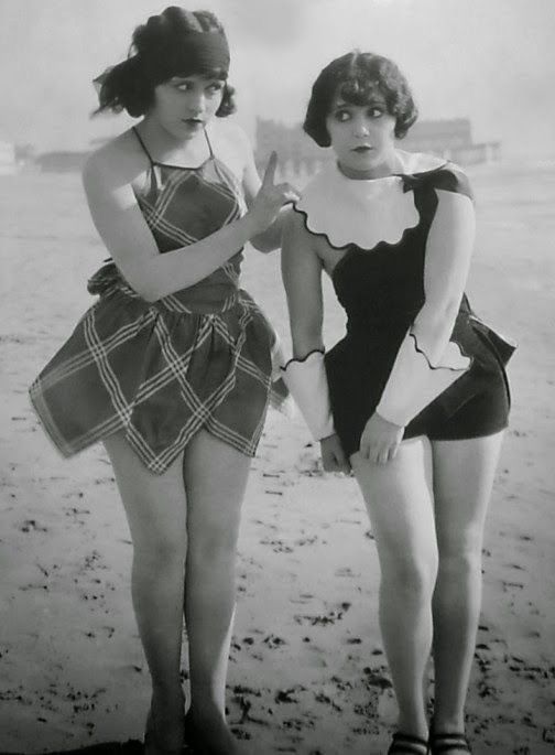 Bathing beauties, circa 1930s