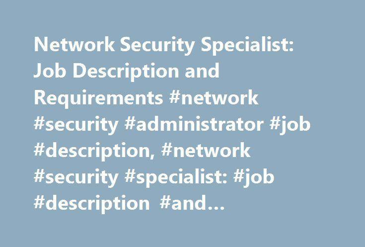 network security administrator job description analyst resume network security administrator sample resume