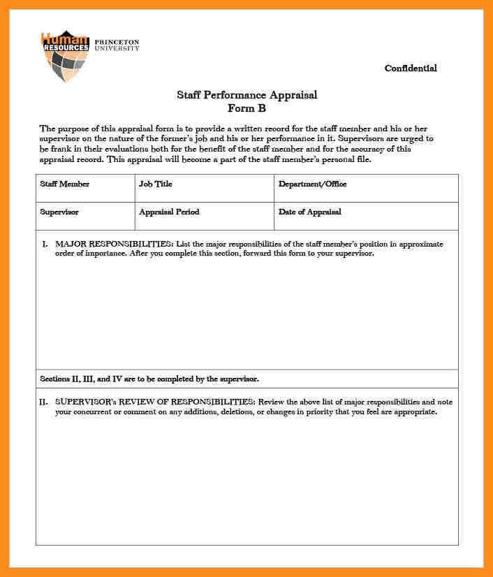 Appraisal Forms Template 8 Hr Appraisal Forms Hr Templates Free - appraisal order form