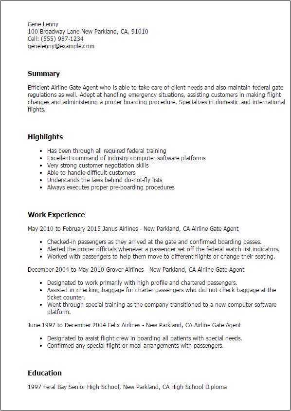 airline ticketing agent sample resume cvresumeunicloudpl - Airline Ticket Agent Sample Resume
