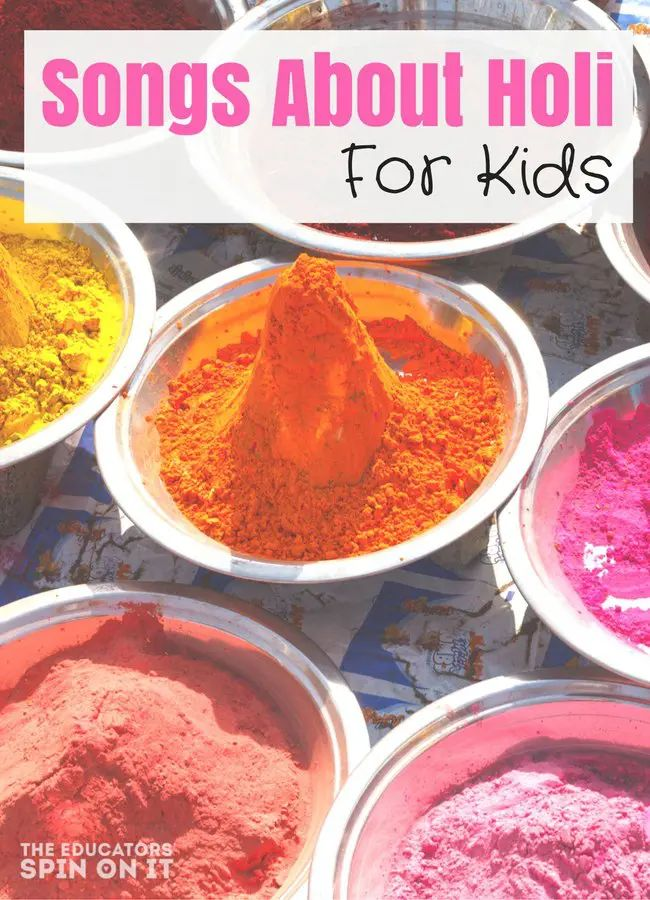 Songs About Holi for Kids to Celebrate the Festival of Color