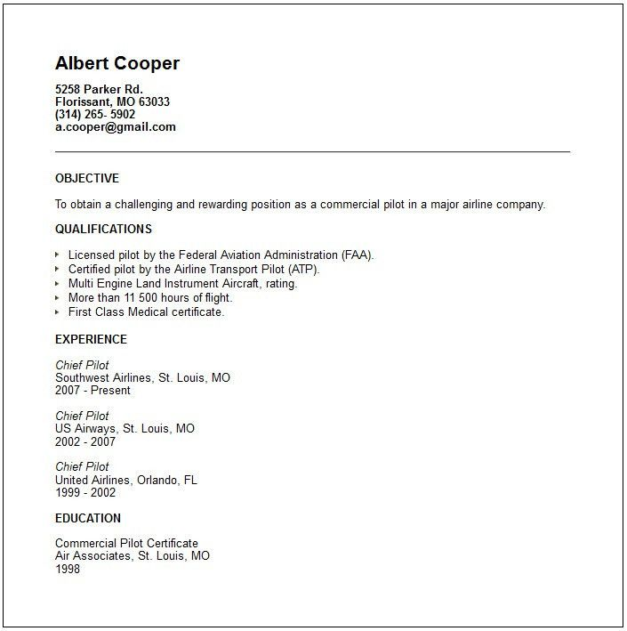 Brief Resume Format Brief Resume Format Resume Format Free Resume - short resume examples