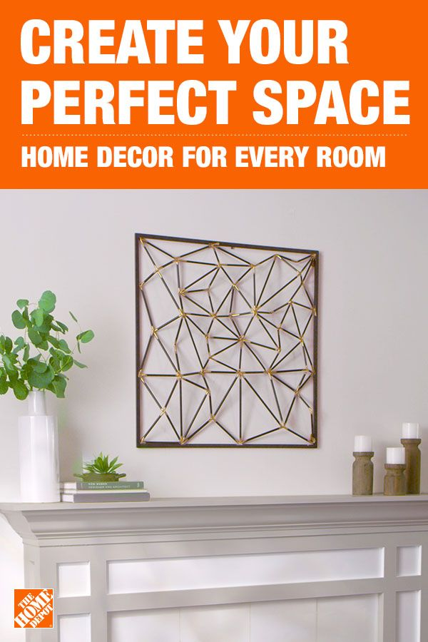 Find the final touches to complete your style by visiting homedepot.com