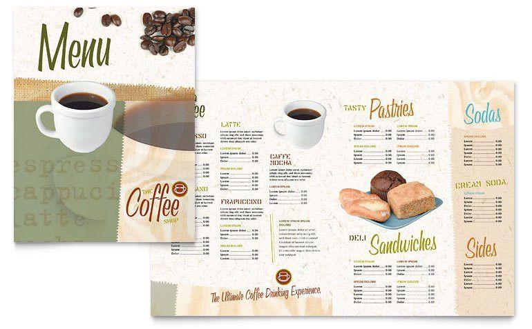 Cafe Menu Template Word Free Menu Template 21 Free Word Pdf - free restaurant menu template word