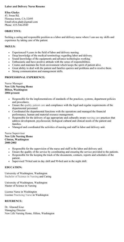 job description of labor and delivery nurse labor and delivery labor and delivery nurse resume