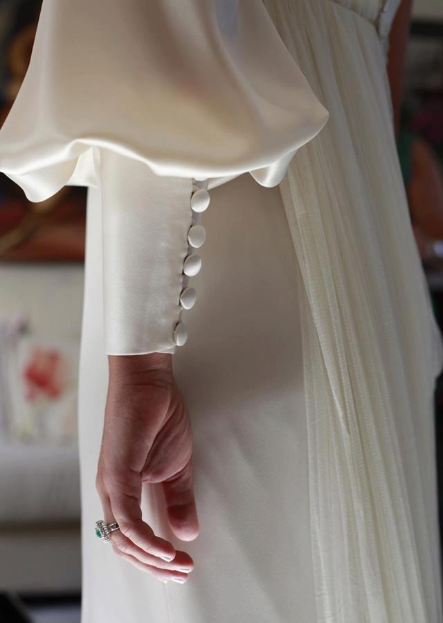vestido de novia mangas