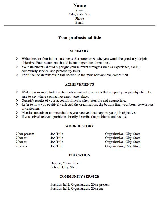 Examples Of Achievements In Resume - Examples of Resumes - Achievements For Resume