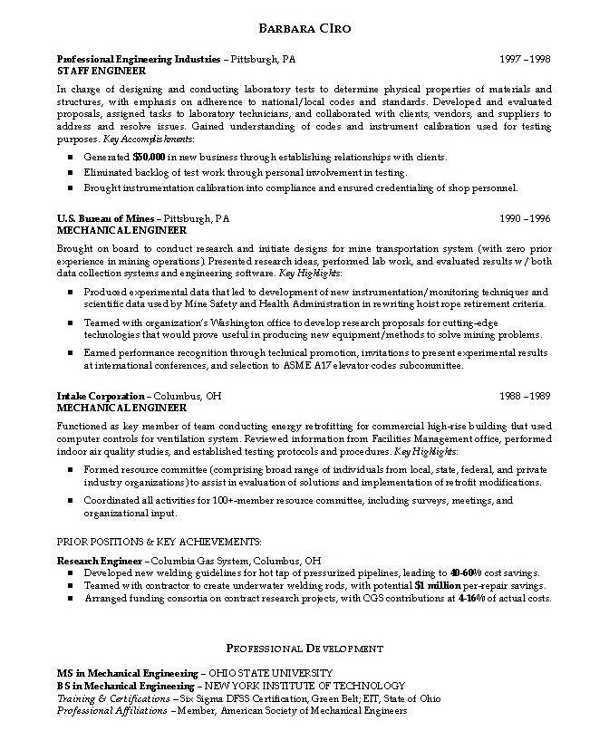 Resume Objective Examples Engineering Sample Graduate Resume - linux administrator resume