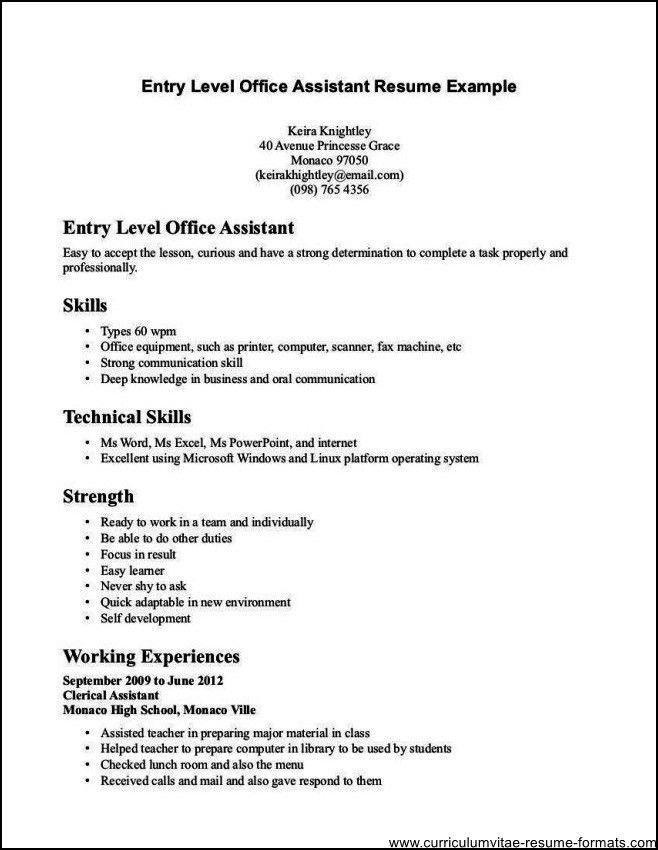 Clerk Resume Sample Entry Level Office Clerk Resume Sample Resume - stock clerk job description