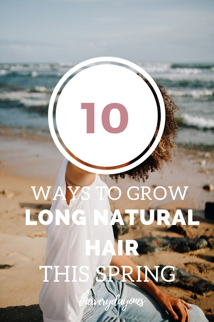 growing your hair this spring is never easier with these tips and tricks to growing long, healthy, 3a, 3b, 3c, 4a, 4b, 4c hair!