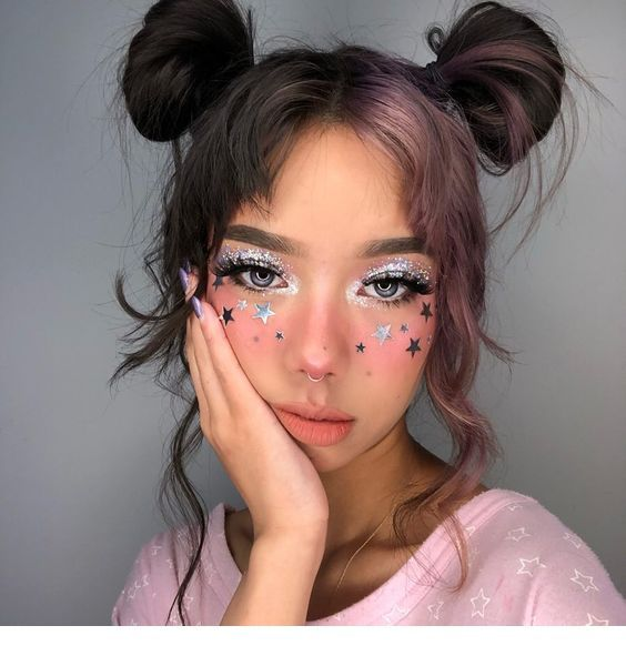 Makeup, hairstyle idea