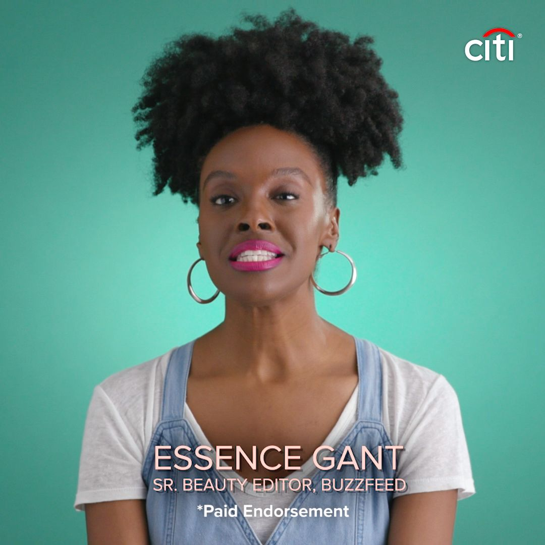 Essence's Excited To Own A Citi Rewards+ Card // Presented by BuzzFeed. Sponsored by Citi