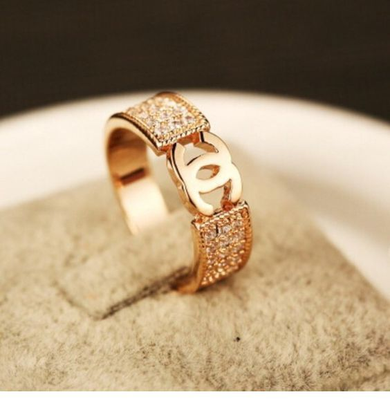 Amazing gold Chanel ring