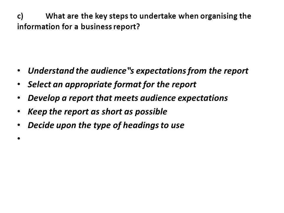 Short Business Report Format 10 Sample Business Report Free - format for a business report