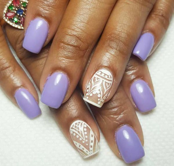 Trendy Acrylic Nail Art Designs For This Year – Fashonails