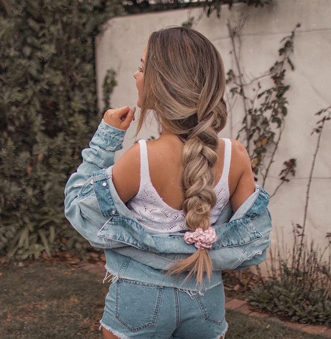 Summertime – summer hairstyles – braids