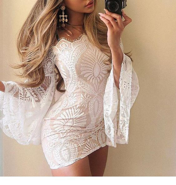 I wand this kind of white dress