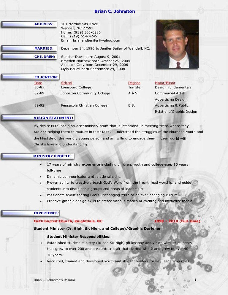 sample pastoral resume lead pastor resume samples visualcv resume ministry resume