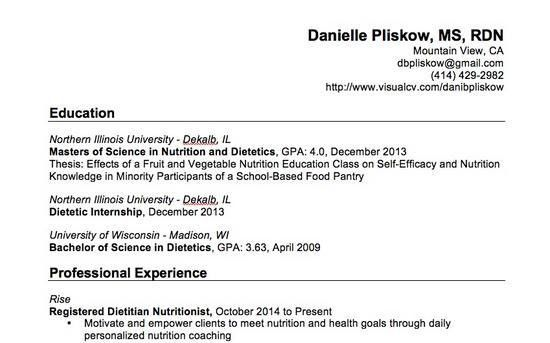 registered dietitian resume registered dietitian resume eliolera