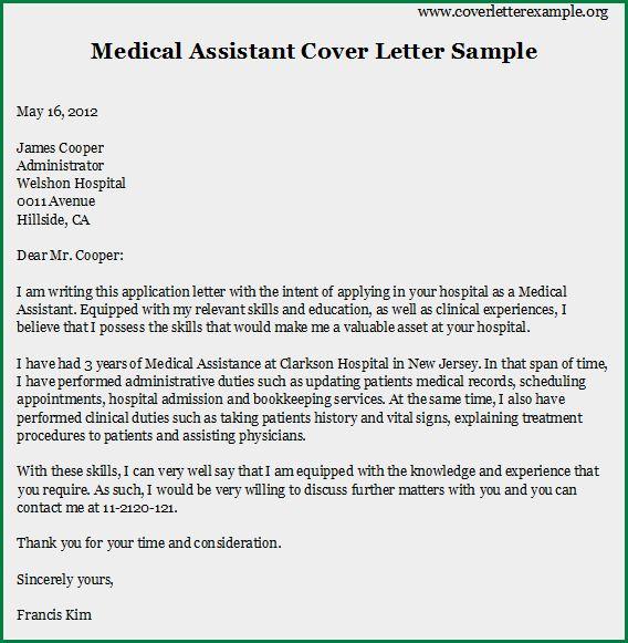 Cover Letter For Resume For Medical Assistant Thank You Cover - medical assistant thank you letter
